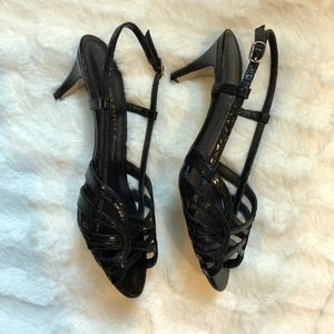 Adrianna Papell Boutique Open Toe Heels